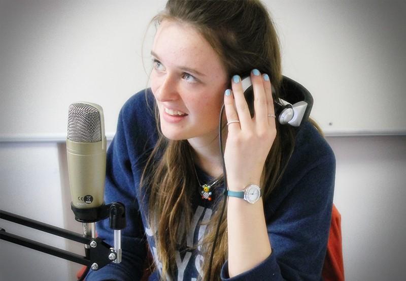 Radio training with Youth Radio Rocks 1