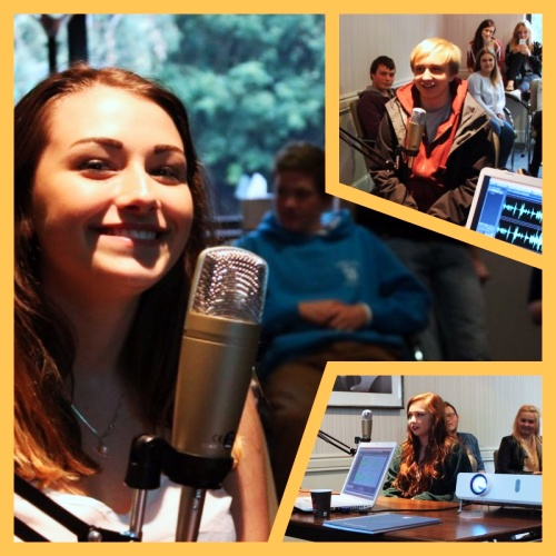 Youth Radio Rocks providing workshops to the National Citizen Service